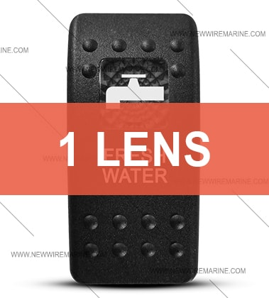 Contura II Fresh Water switch cover