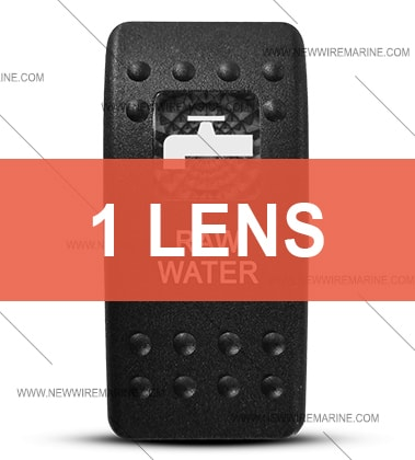 contura II raw water switch cover