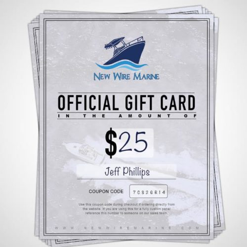 new wire marine gift card