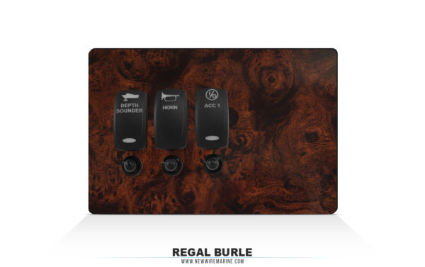 Regal Burl Boat dash material
