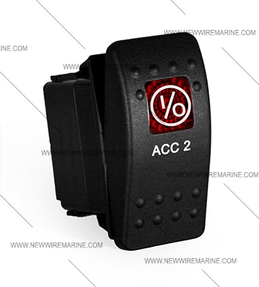 acc 2 rocker switch