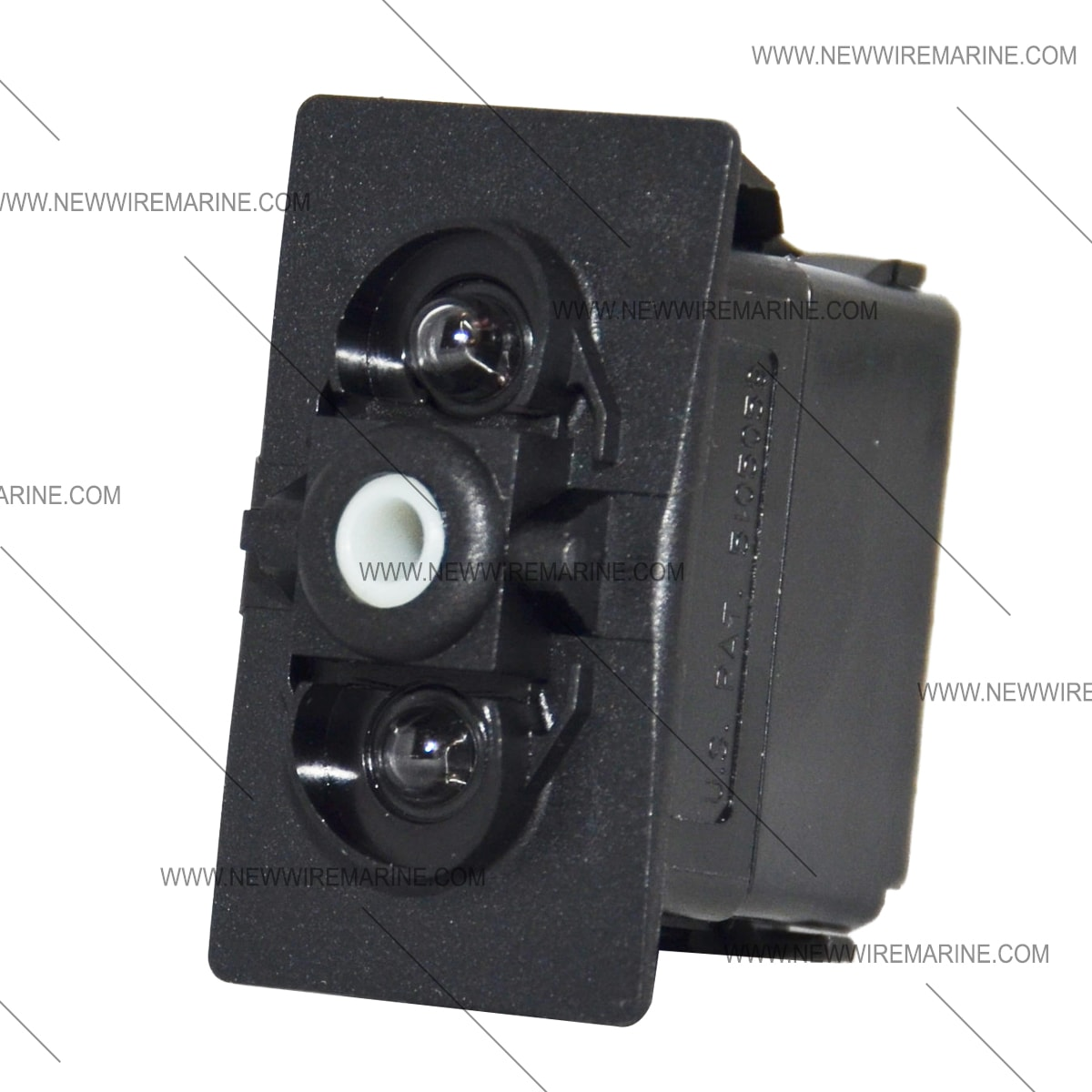 Carling double light replacement rocker switch