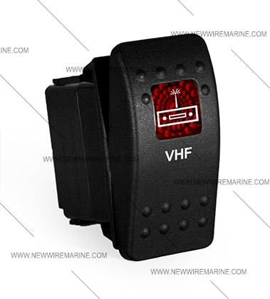 vhf rocker switch